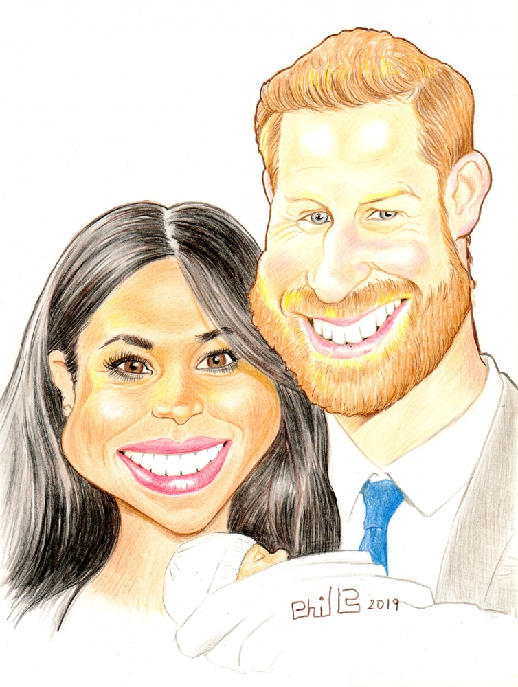 Meghan Markle, Prince Harry Windsor by PhilLP